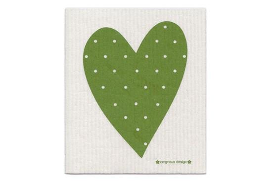 Hubka - srdce zelené