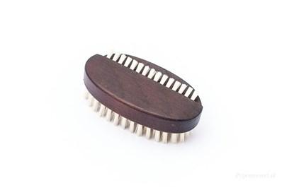 Obrázok pre výrobcu Oválna kefka na ruky z termodreva