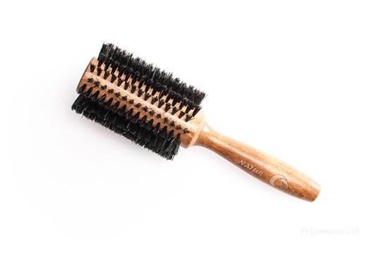 16-radová guľatá kefa na vlasy