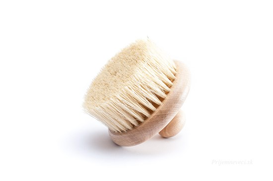 Masážna kefa s vláknami tampico bez rúčky