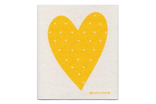 Hubka - srdce žlté