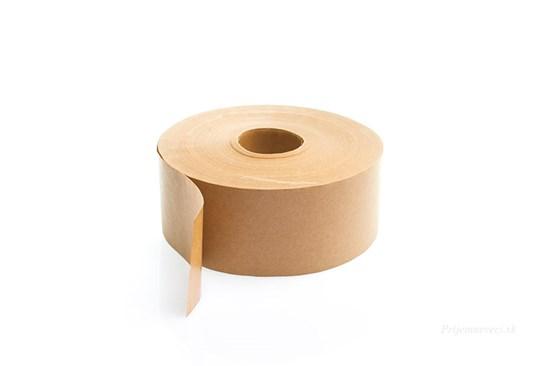 Papierová lepiaca páska hnedá širšia - 200 metrov