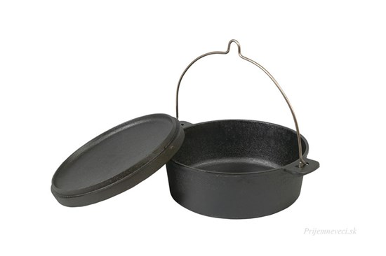 Liatinový škandinávsky hrniec - 5,5l