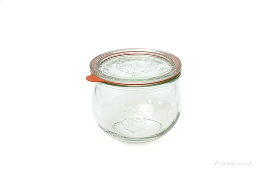 Zavárací pohár Weck tulipán - 580ml