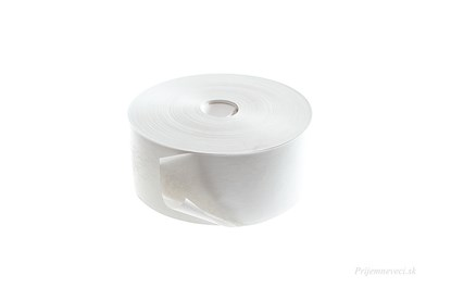 Obrázok pre výrobcu Papierová lepiaca páska biela - 200 metrov