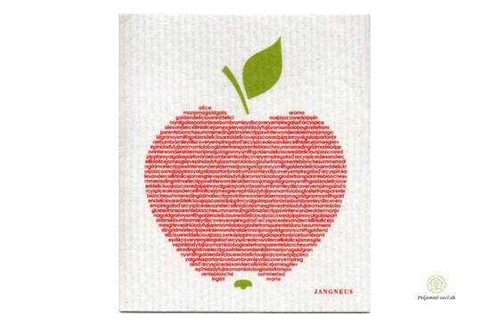 Hubka - jablko červené