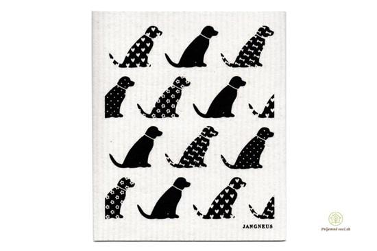 Hubka - psíky čierne