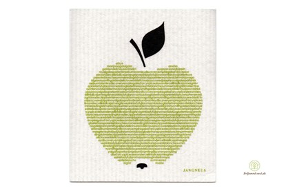Obrázok pre výrobcu Hubka - jablko zelené