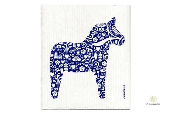 Hubka - koník modrý
