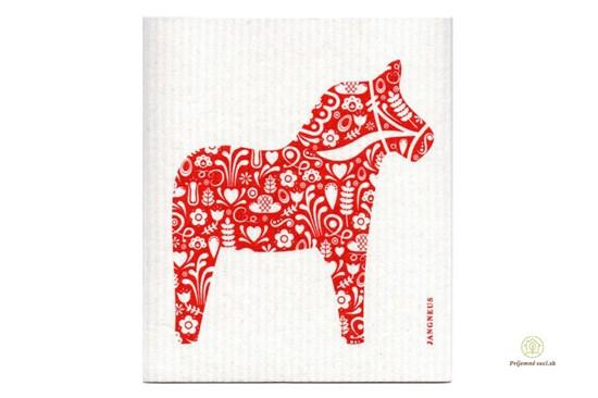 Hubka - koník červený