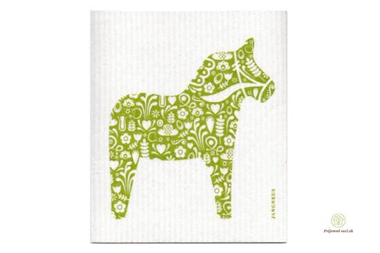 Hubka - koník zelený