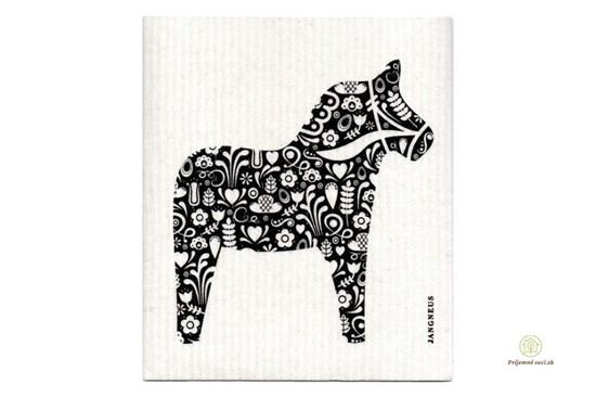 Hubka - koník čierny
