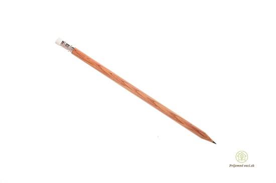 Drevená ceruzka s gumou
