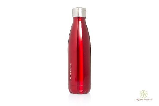 Termofľaša Yoko Design - 500ml - červená