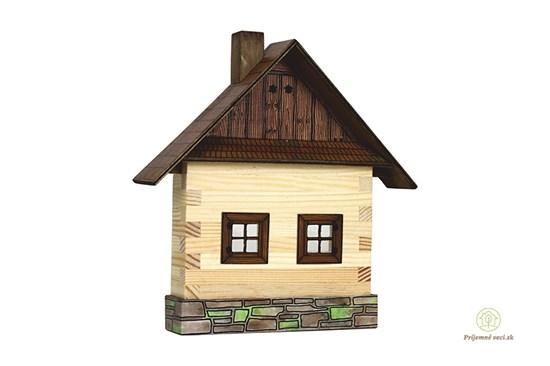 Walachia - zlepovacia stavebnica - domček na stenu