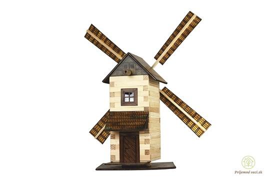 Walachia - zlepovacia stavebnica - veterný mlyn