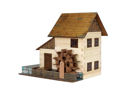Walachia - zlepovacia stavebnica - vodný mlyn