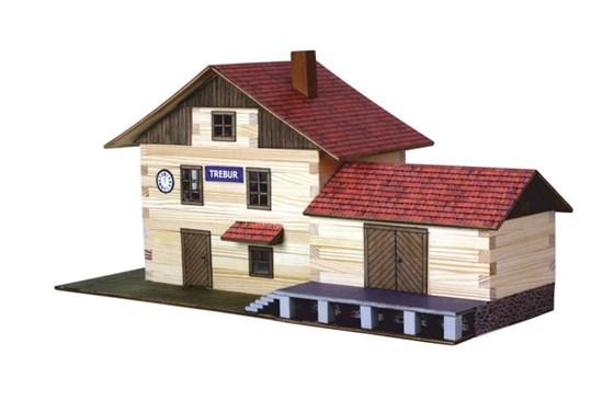 Walachia - zlepovacia stavebnica - vlaková stanica