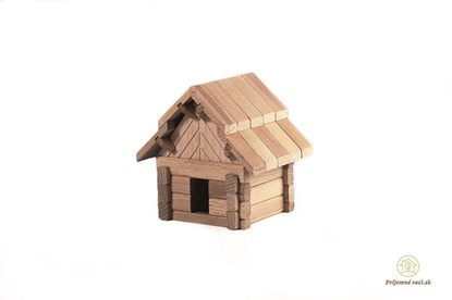 Obrázok pre výrobcu Drevená stavebnica Archaprogram - salaš