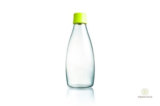 Retap sklenená fľaša 800ml - rôzne farby