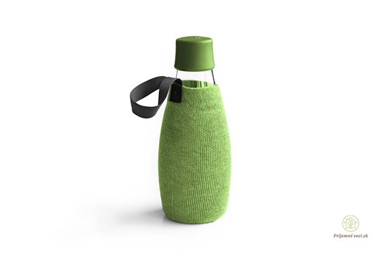 Retap - obal 500ml - zelený úplet