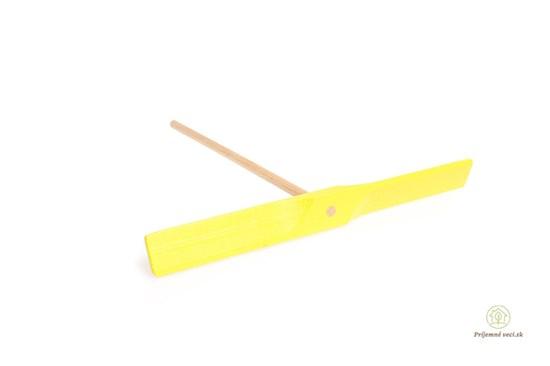 Drevená vrtuľa - žltá