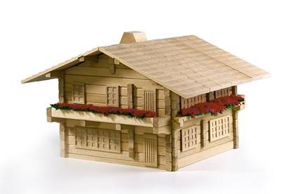 Obrázok pre výrobcu Drevená stavebnica Archa Alpen 3