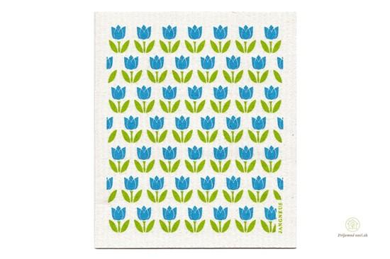 Hubka - malé tulipány tyrkysové