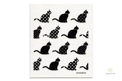Obrázok pre výrobcu Hubka - mačky čierne