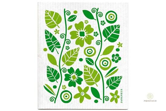 Hubka - záhrada zelená