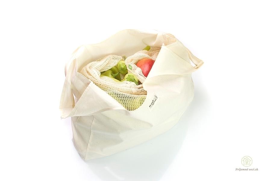 143fbe5d1b Plátené vrecko -malé Príjemné veci - domácnosť bez odpadu - zero waste