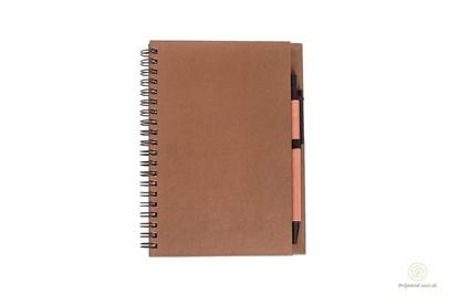 Obrázok pre výrobcu Zápisník s perom - hnedý