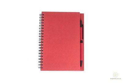 Obrázok pre výrobcu Zápisník s perom - červený