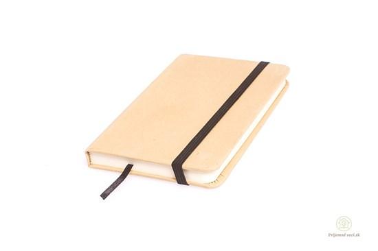 Malý zápisník s gumičkou
