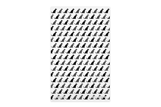 Utierka – psíky čierne