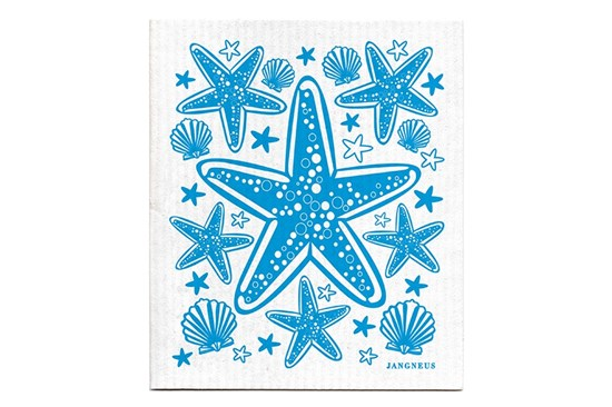 Hubka - hviezdica tyrkysová