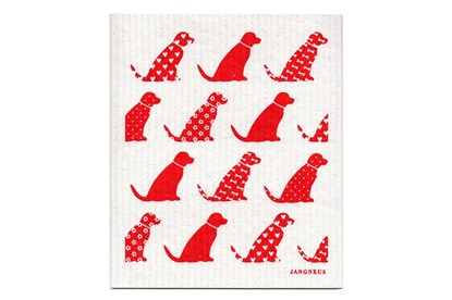 Obrázok pre výrobcu Hubka - psíky červené