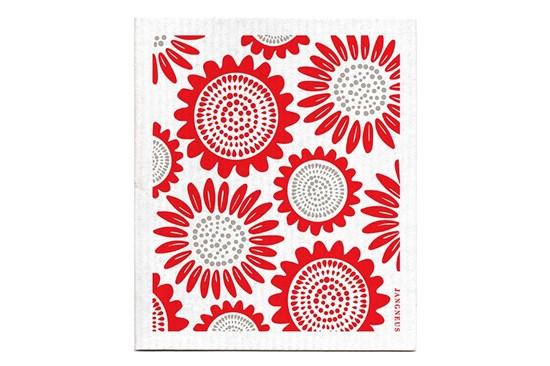 Hubka - slnečnice červené