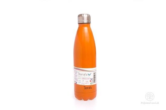 Termofľaša Biodora 500ml oranžová
