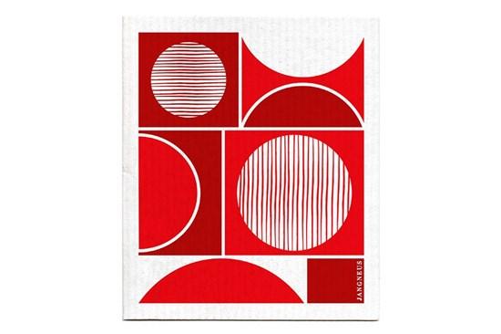 Hubka - kruhy červené