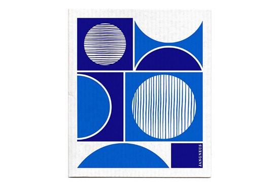 Hubka - kruhy modré