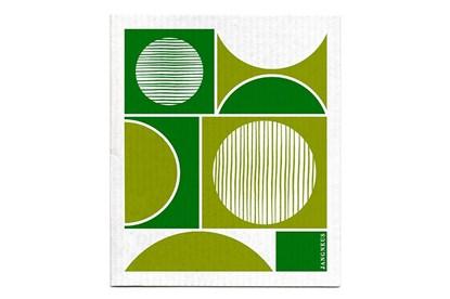 Obrázok pre výrobcu Hubka - kruhy zelené