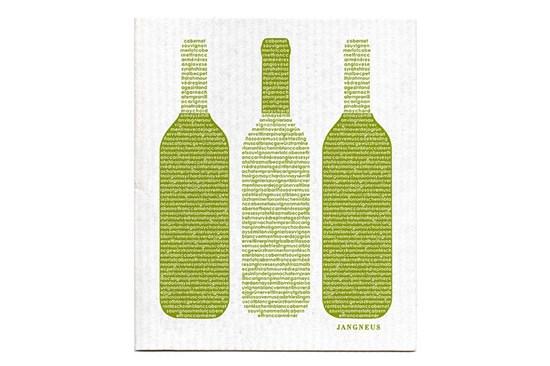 Hubka - víno zelené