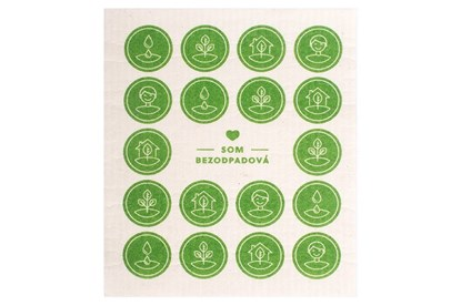 Obrázok pre výrobcu Bezodpadová hubka zelená