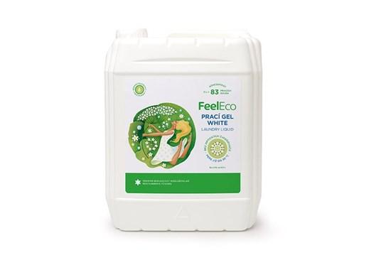 Feel Eco prací gél na bielu bielizeň - 5L
