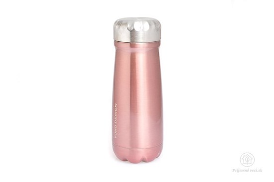 Termofľaša so širokým hrdlom Yoko Design - 500ml - rosé
