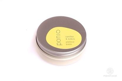 Obrázok pre výrobcu Pleťový krém Ponio - vanilka a kokos