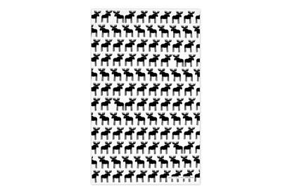 Obrázok pre výrobcu Utierka – soby čierne