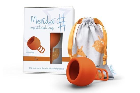 Menštruačný kalíšok Merula - líška