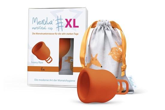 Menštruačný kalíšok Merula XL - líška